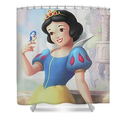 Princess Snow White Shower Curtain