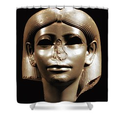 Princess Sphinx Shower Curtain by Nigel Fletcher-Jones