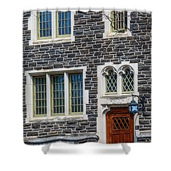 Shower Curtain featuring the photograph Princeton University Patton Hall No 9 by Susan Candelario