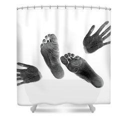 Prints #3108 Shower Curtain