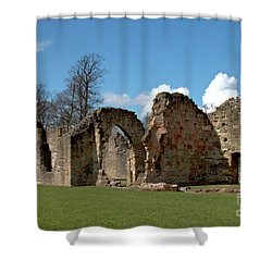 Priory Ruins Shower Curtain