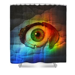 Shower Curtain featuring the photograph Prismaeye by Douglas Fromm