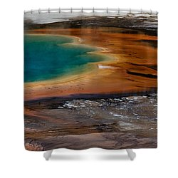 Prismatic Spring Shower Curtain
