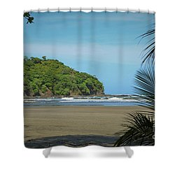 Pristine Shore Shower Curtain by Pamela Blizzard