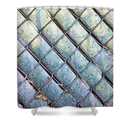 Privacy Chain Shower Curtain by Stan  Magnan