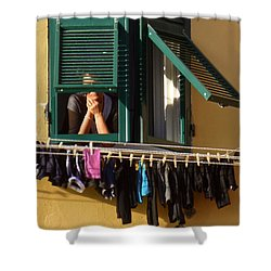 Private Moments Shower Curtain