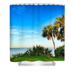 Private Paradise  Shower Curtain