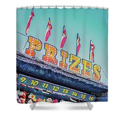 Shower Curtain featuring the photograph Prizes by Cindy Garber Iverson