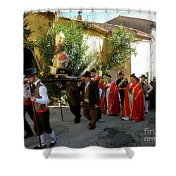 Procession Of Saint Clement Shower Curtain