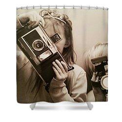 Professional Photographers Shower Curtain by Scott D Van Osdol