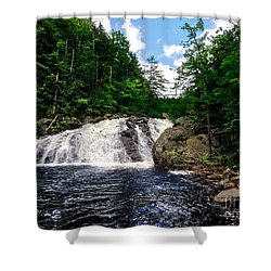 Profile Falls Bristol N H Shower Curtain