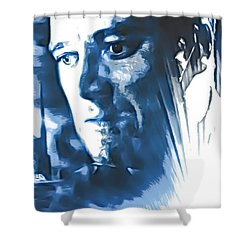 Shower Curtain featuring the photograph Profile Of An Eccentric Doctor by Mario Carini