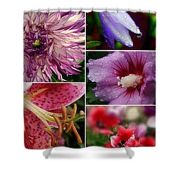 Profusion Shower Curtain by Priscilla Richardson