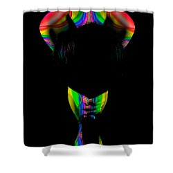 Projected Body Paint 2094999b Shower Curtain