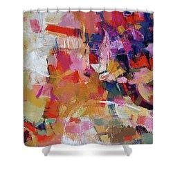 Promenade Shower Curtain by Elizabeth Chapman