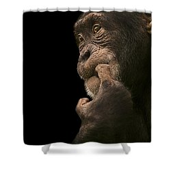 Promiscuous Girl Shower Curtain by Paul Neville