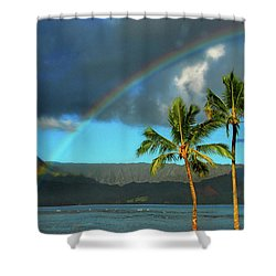 Promise Of Hope Shower Curtain by Lynn Bauer