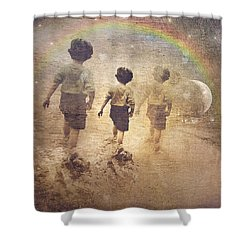 Phases Of The Journey--the Promise Of The Rainbow Shower Curtain