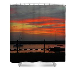 Promises-promises Shower Curtain by Laura Ragland