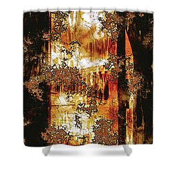Prophecy Shower Curtain by Paula Ayers