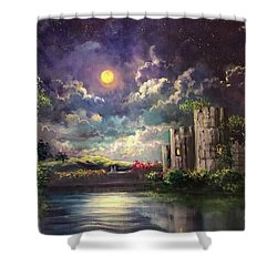 Proposal Underneath The Moon Shower Curtain