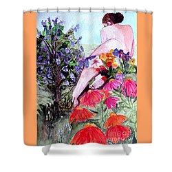 Proserpina Rising Shower Curtain
