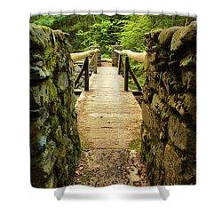 Prospective Memorial Bridge Shower Curtain