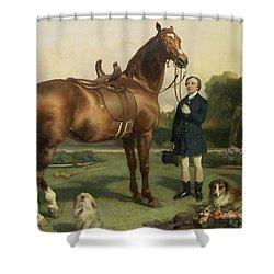 Prosperity Shower Curtain by Sir Edwin Landseer