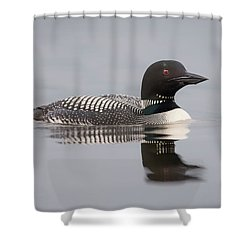 Protecting The Nest... Shower Curtain