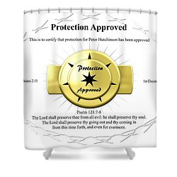 Protection Approved Shower Curtain
