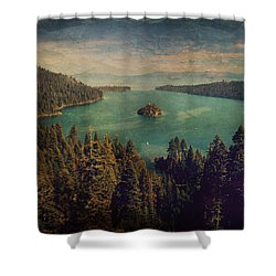 Protection Shower Curtain by Laurie Search