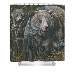 Protective Mother Shower Curtain