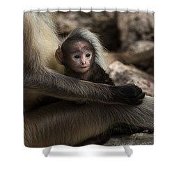 Protectiveness Shower Curtain