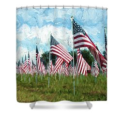 Proud And Free Shower Curtain