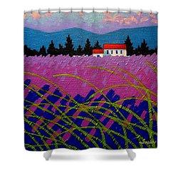 Provence Landscape Shower Curtain by John  Nolan