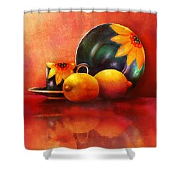 Provence Reflections Shower Curtain