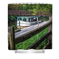 Providence Metropark Erie Canal  Shower Curtain