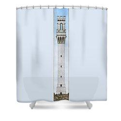 Provincetown Pilgrim Monument Shower Curtain