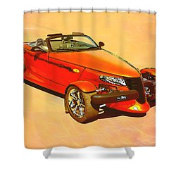 Prowlin' Shower Curtain