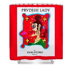 Prvdish Lady Shower Curtain