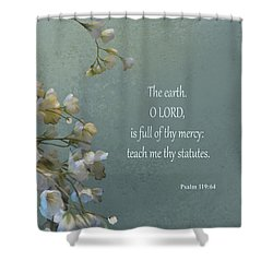 Psalms 03 Shower Curtain