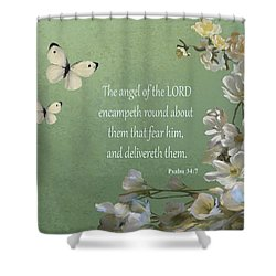 Psalms 04 Shower Curtain