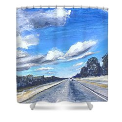Psalms 119 35 Shower Curtain