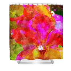 Psaumes 35-9 Shower Curtain