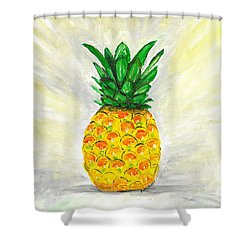 Psych Just Kidding  Shower Curtain