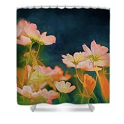 Psychedelic Cosmos Shower Curtain