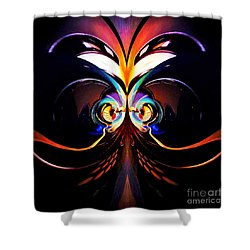 Psychedelic Dreams Shower Curtain by Blair Stuart