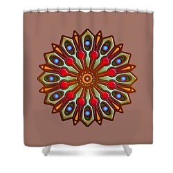 Psychedelic Mandala 012 A Shower Curtain