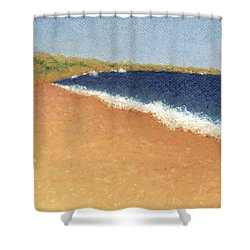 Pt. Reyes Beach Shower Curtain