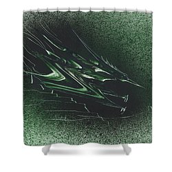 Pteranodon Longiceps Shower Curtain